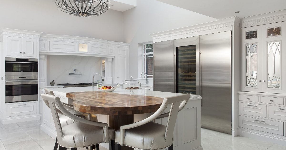 Arctic Blonde Oyster Bed In Frame, Oyster Bed Kitchen Cabinets